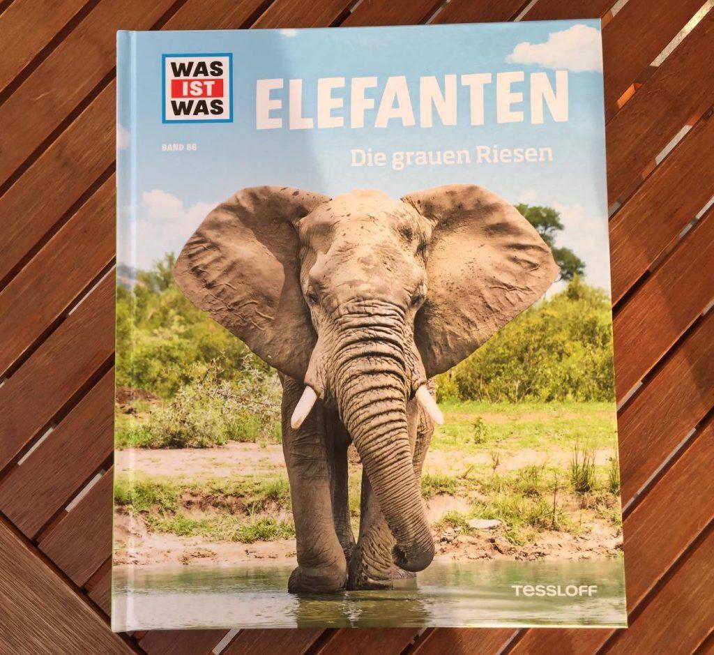 Die Abbildung des Buches Elefanten