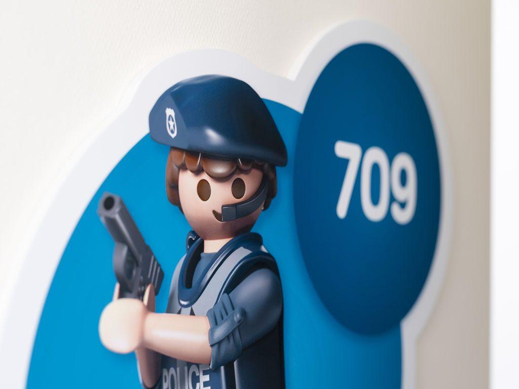 Polizeizimmer Nummer 709