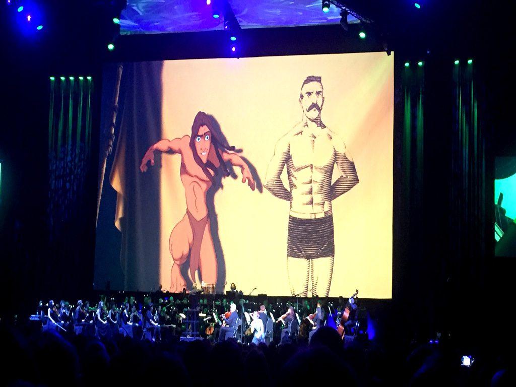 """Ein Filmausschnitt aus """"Tarzan"""""""