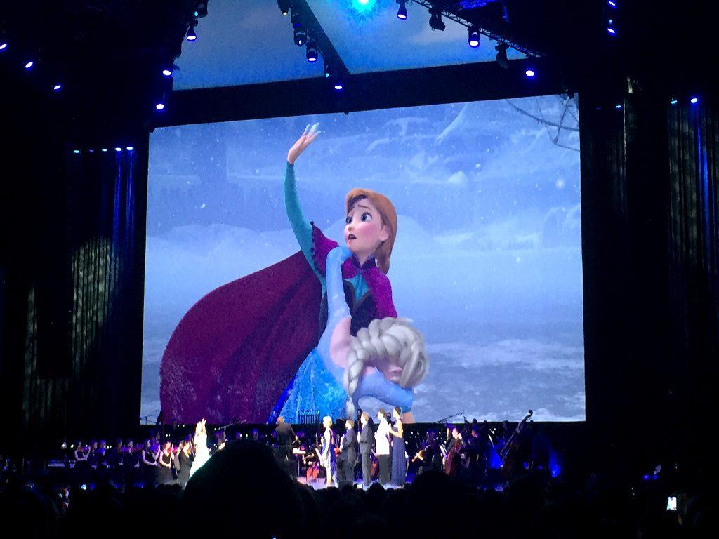 ein Filmausschnitt aus Eiskönigin