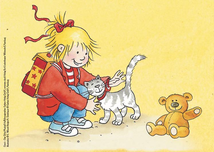 Conni Die Conni mit Kater und Teddy