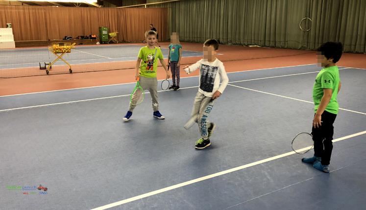 Kindergeburtstag - Federball