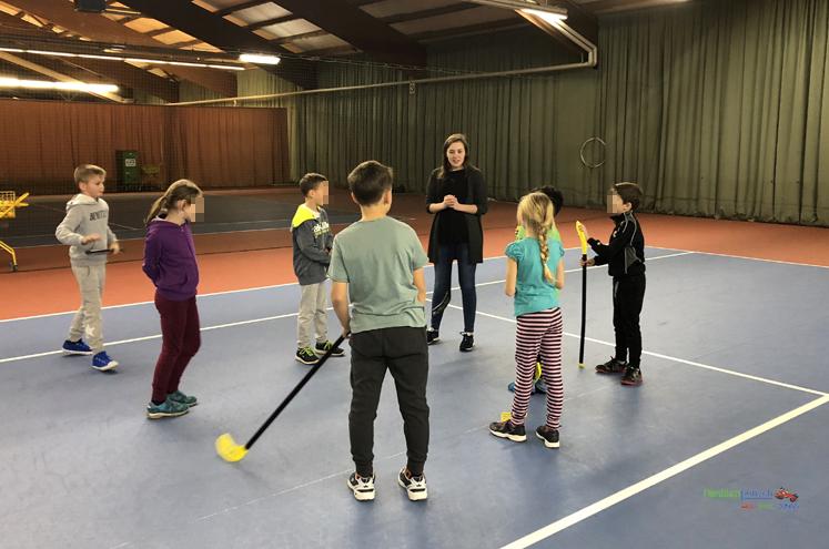 Kindergeburtstag - Hockey