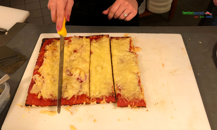Kindergeburtstag - Pizza