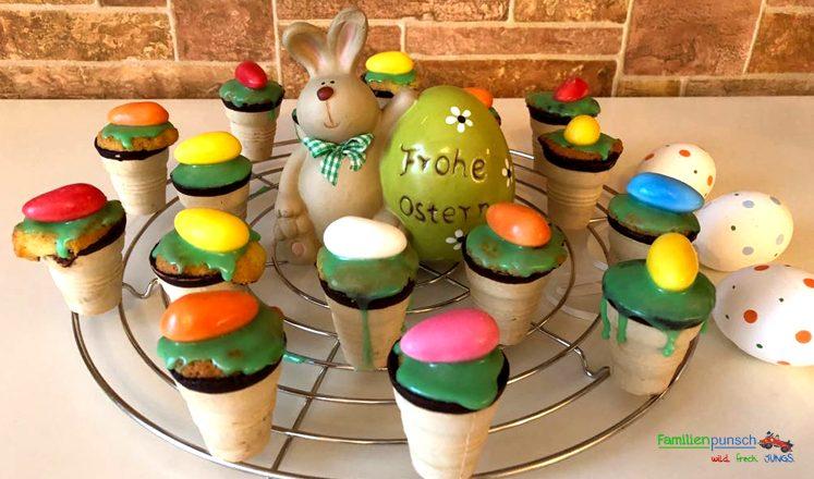 Osternest-Kuchen