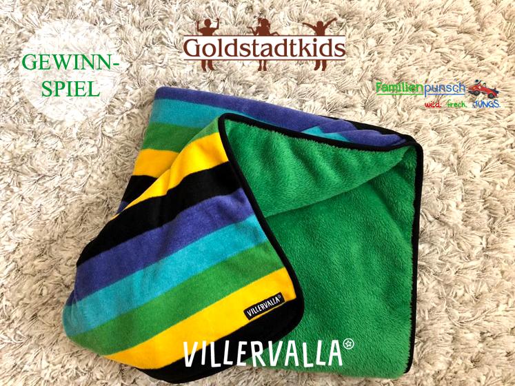Goldstadkids_Gewinnspiel Decke von Villervalla