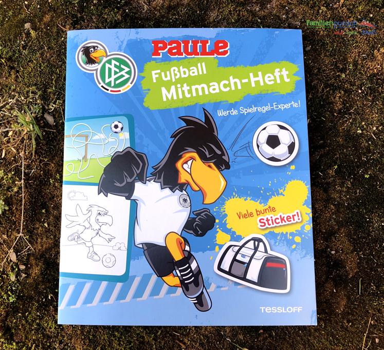 Fußball - Blaues Mitmach-Heft von Tessloff