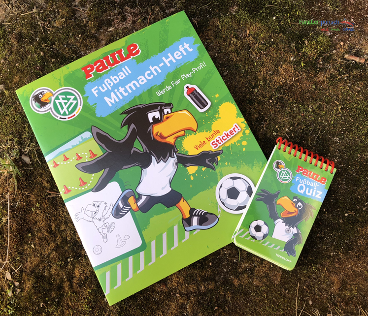 Fußball - Mitmach-Heft und Rätselblock in Grün