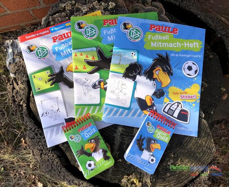 Fußball - Mitmach-Hefte und Rätselblöcke von Tessloff