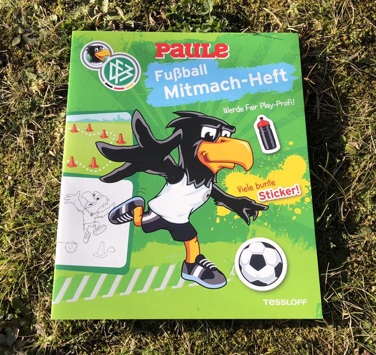 Fußball - Grünes Mitmach-Heft von Tessloff