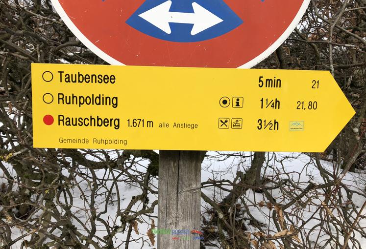 Rauschberg - der Wegweiser