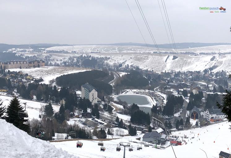 Am Fichtelberg Aussicht vom Fichtelberg