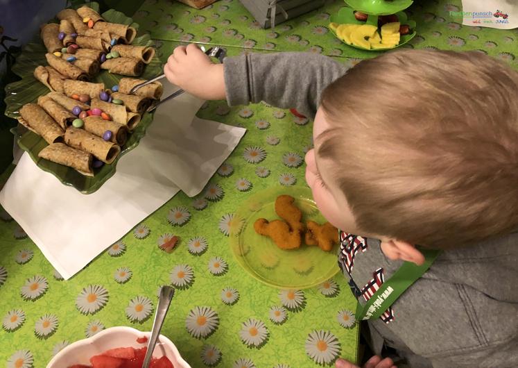 Am Fichtelberg Pfannkuchen am Kinderbuffet