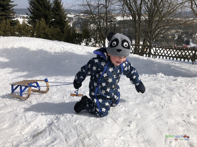 Am Fichtelberg Schneewelt