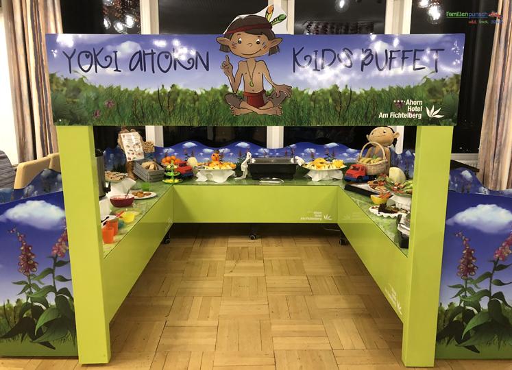 Am Fichtelberg YOKI AHORN Kinderbuffet