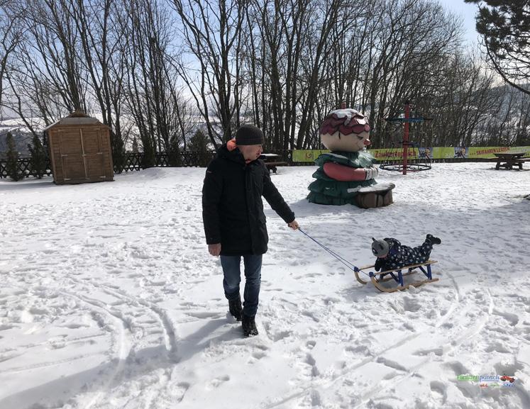 Am Fichtelberg YOKI AHORN Spielplatz