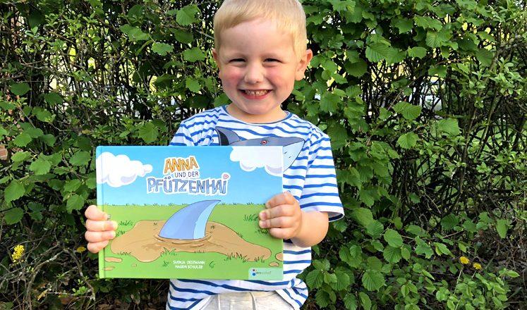 Anna und der Pfützenhai - das Bilderbuch