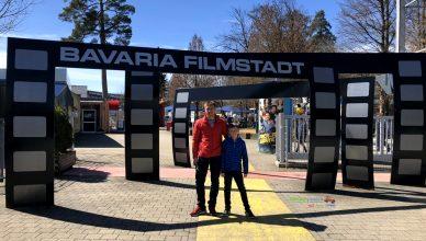 Bavaria Filmstadt Eingang