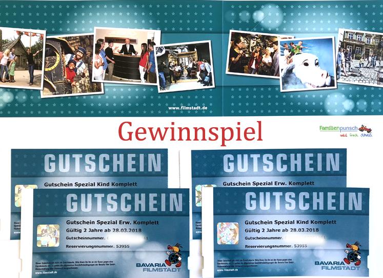 Bavaria Filmstadt Gewinnspiel
