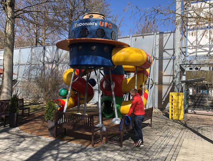 Bavaria Filmstadt McDonald's UFO