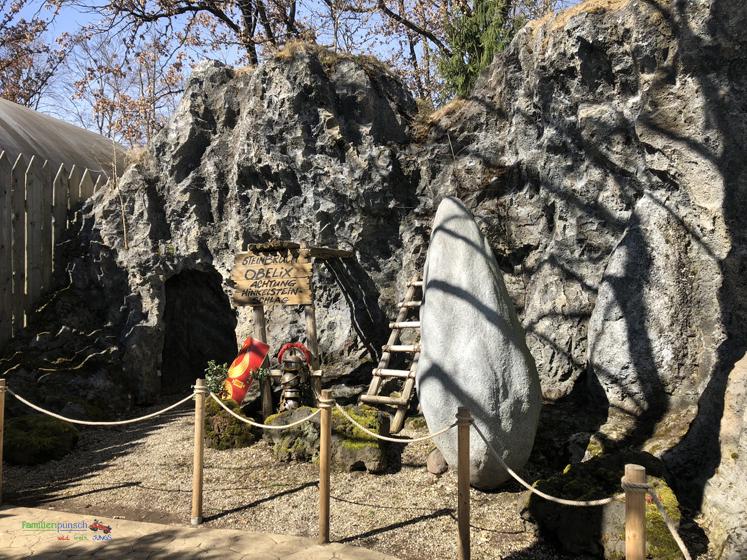 Bavaria Filmstadt Steinbruch Obelix