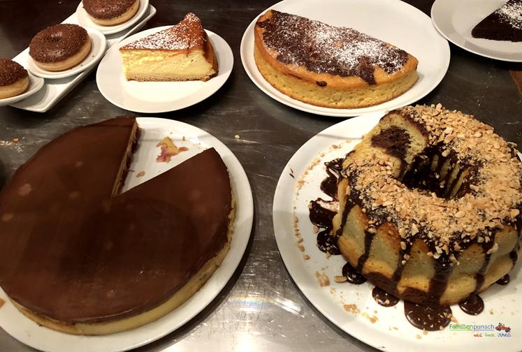 Krokodo - große Auswahl an Kuchen