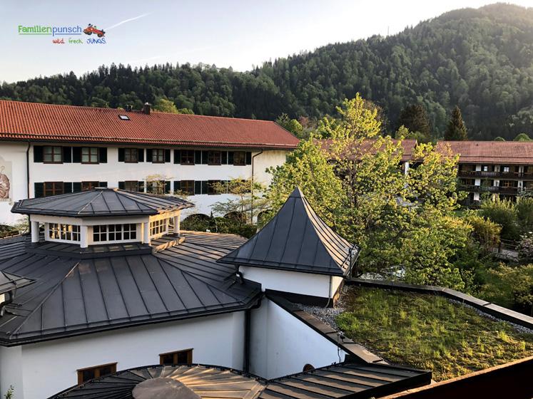 Bachmair Weissach - Über die Dächer des Hotels