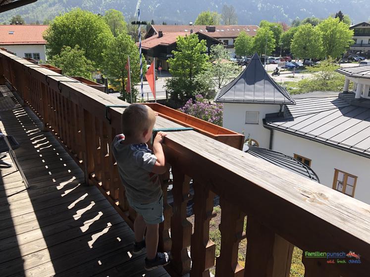Bachmair Weissach - Balkon