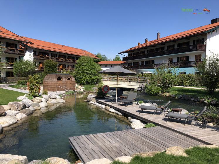 Bachmair Weissach - Naturbach und Sauna