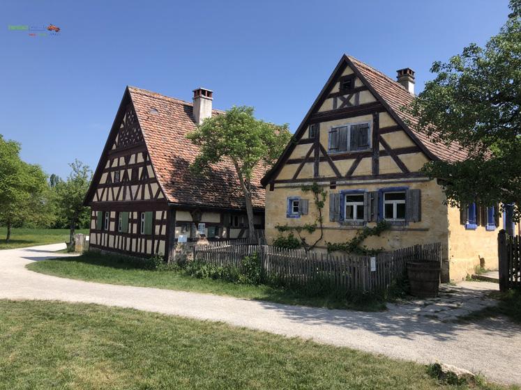 Fränkisches Freilandmuseum - Bauernhäuser