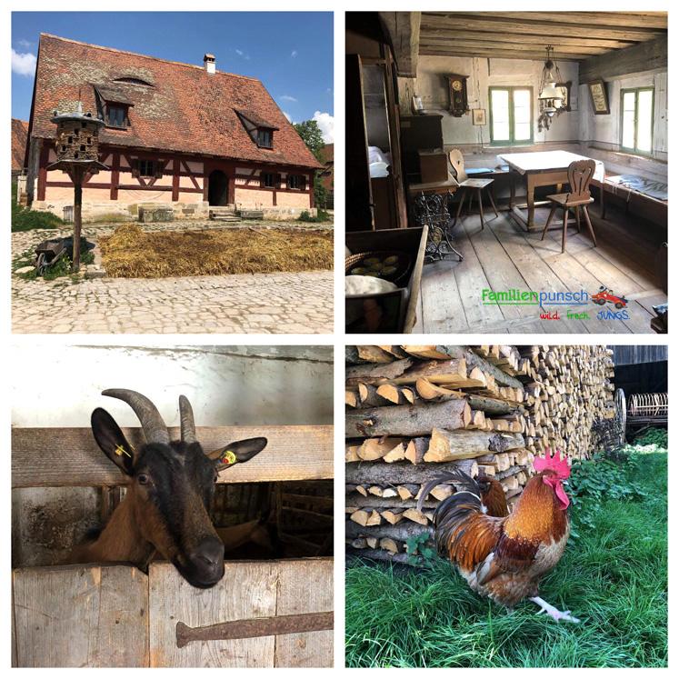 Fränkisches Freilandmuseum - Bauernhaus aus Seubersdorf