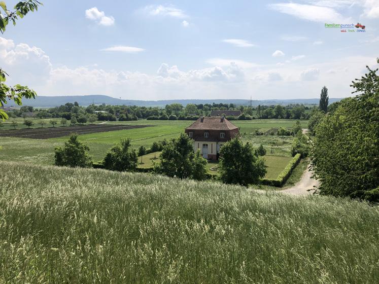 Fränkisches Freilandmuseum - Dieser Ausblick