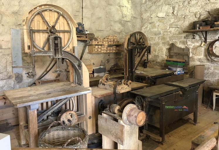 Fränkisches Freilandmuseum - Werkstatt