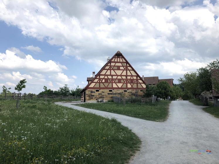 Fränkisches Freilandmuseum - Wohn- und Bauerhaus