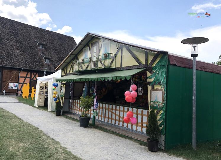 Fränkisches Freilandmuseum - Wurfbude