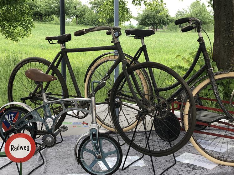 Fränkisches Freilandmuseum - historische Fahrräder