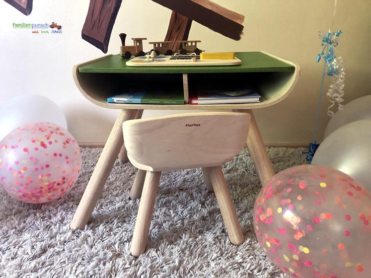 PlanToys Kindertisch- und Kinderstuhlset