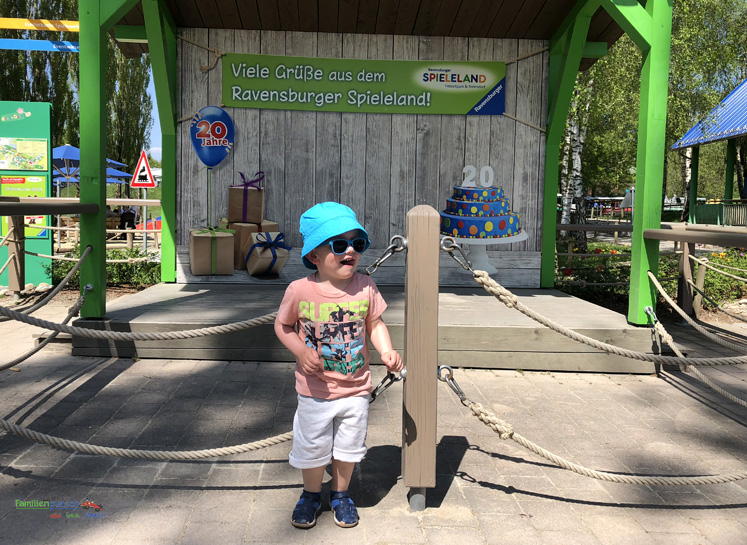 Ravensburger Spieleland - 20 jähriges Jubiläum