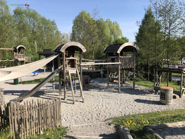 Ravensburger Spieleland - Klettergerüst im Abenteuer-Camp