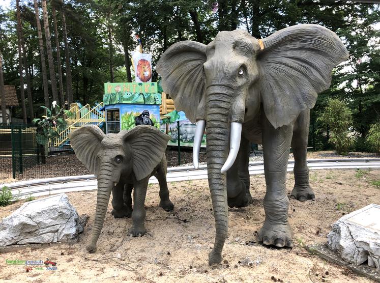 Geiselwind - Elefanten