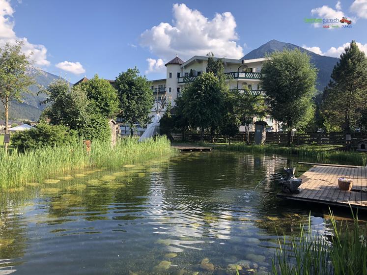 Familienparadies Sporthotel Achensee - Badeteich