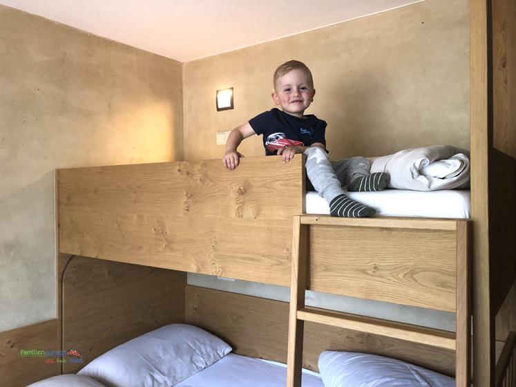 Familienparadies Sporthotel Achensee - Kinderschlafzimmer