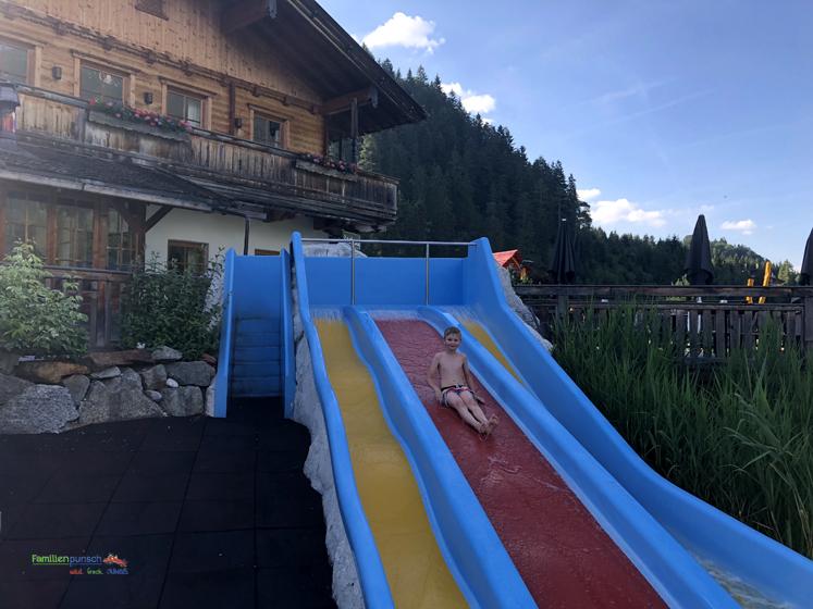 Familienparadies Sporthotel Achensee - Rutschenspaß