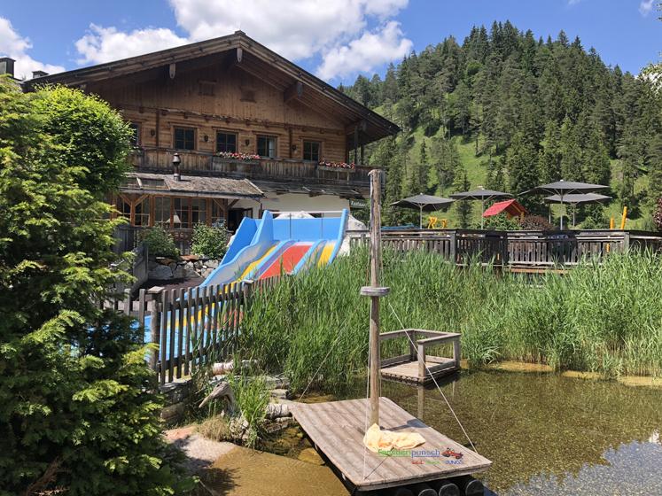 Familienparadies Sporthotel Achensee - Teich