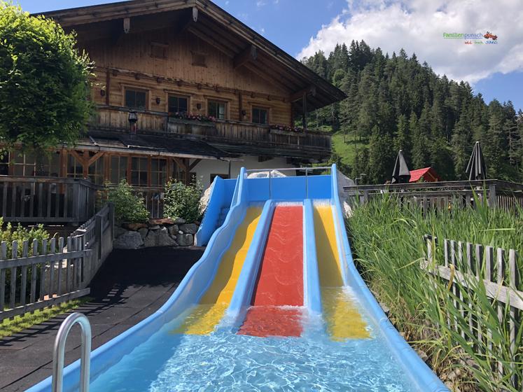Familienparadies Sporthotel Achensee - Wasserutsche