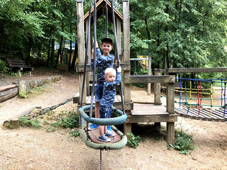 Saalfelder Feengrotten – Abenteuerspielplatz