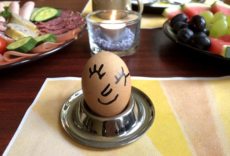 Saalfelder Feengrotten – Frühstück