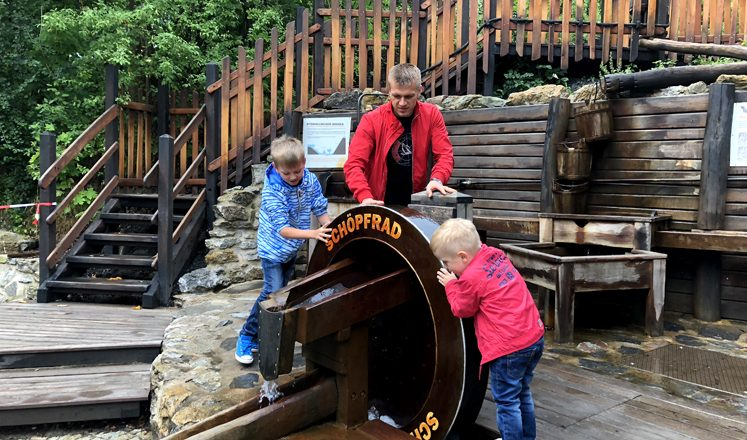 Saalfelder Feengrotten – Wasserspielplatz