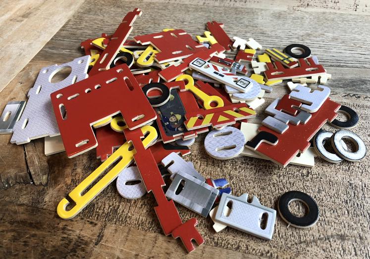 3D Puzzle – Feuerwehr Sam Bauteile