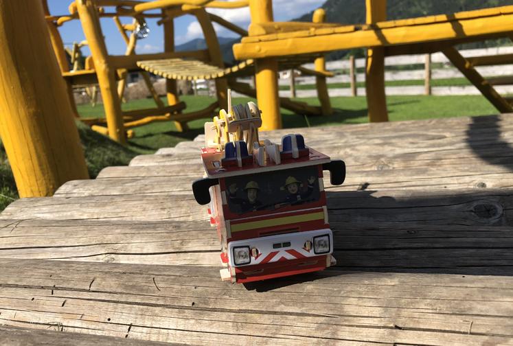 3D Puzzle – fertige Feuerwehr Sam